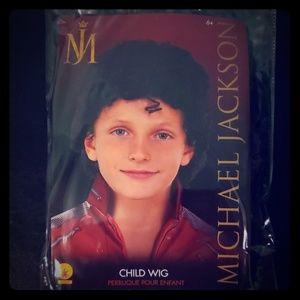 Michael Jackson Wig /Child
